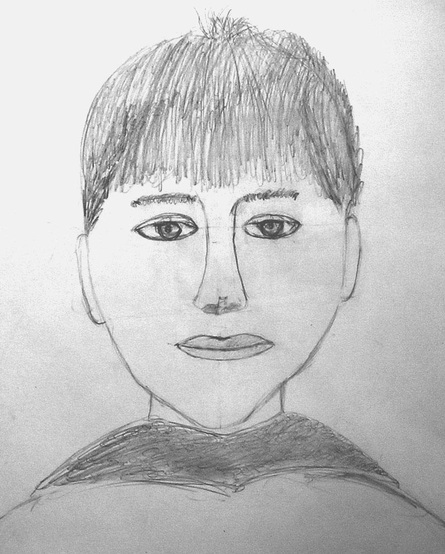 Anton, age 10. Graphite.