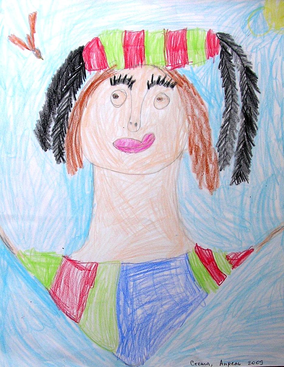 Stefania age 5