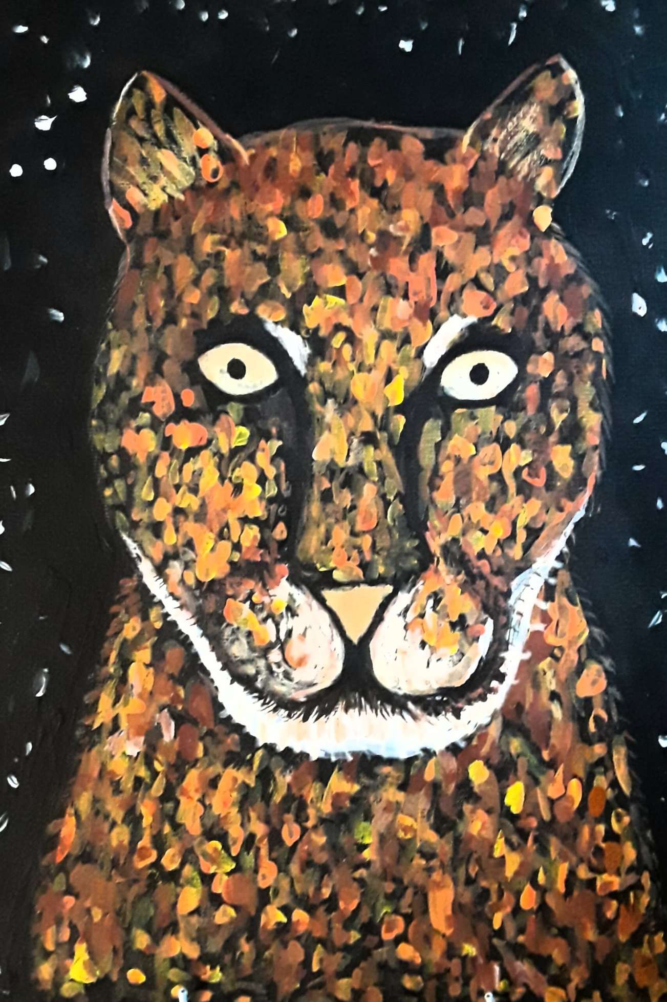 Konstantin, age 14. Acrylic painting on canvas.